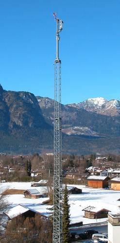 Mobile Antennenträger- und Trägersysteme bis 40m