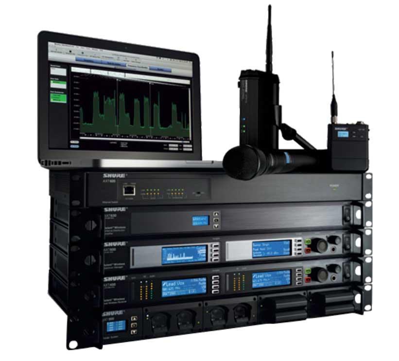 Axient, das Wireless Funkmanagement-Netzwerk