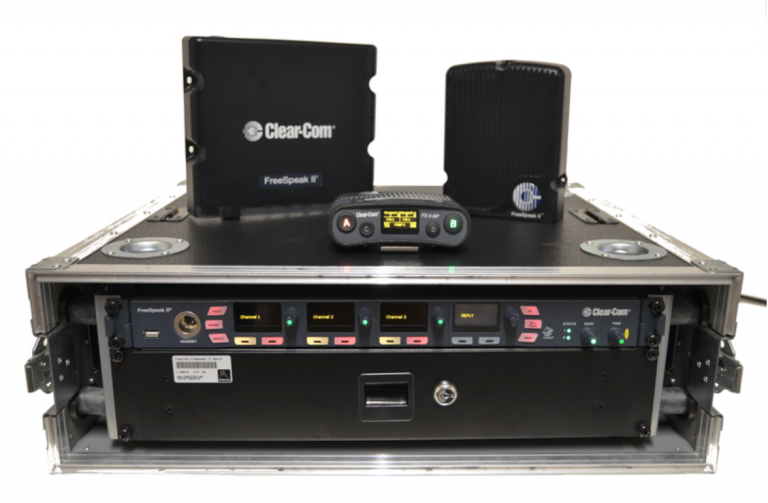 Clearcom Freespeak 10, drahtloses Intercomsystem fuer 10 Vollduplexverbindungen