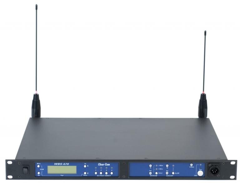 Clearcom WBS-670, Telex BTR