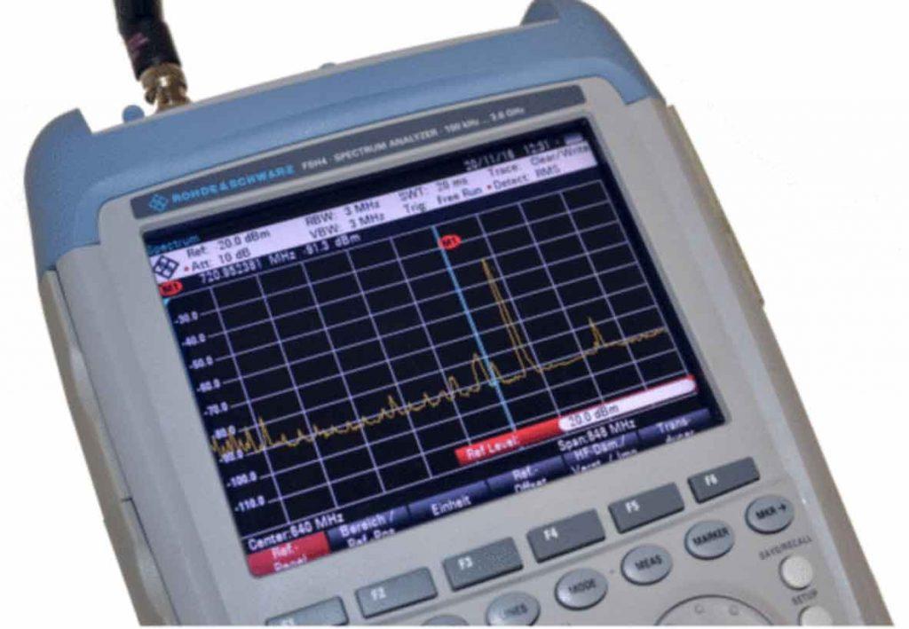 R&S-FSH4, Handheld Spektrumanalysator