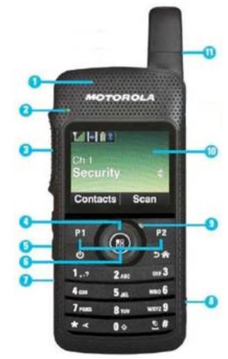 Motorola SLHandfunkgerät