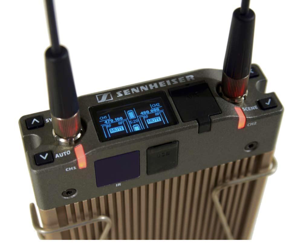 Sennheiser EK 6042, Zweikanal Kameraempfänger