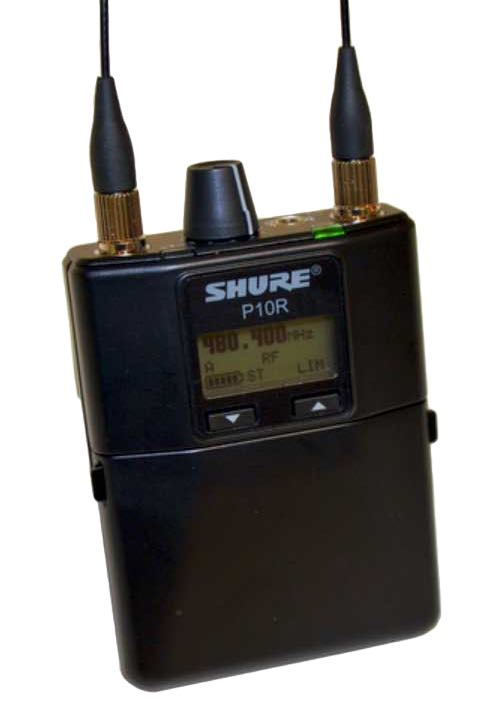 Shure, P9HW, In-Ear-Empfaenger