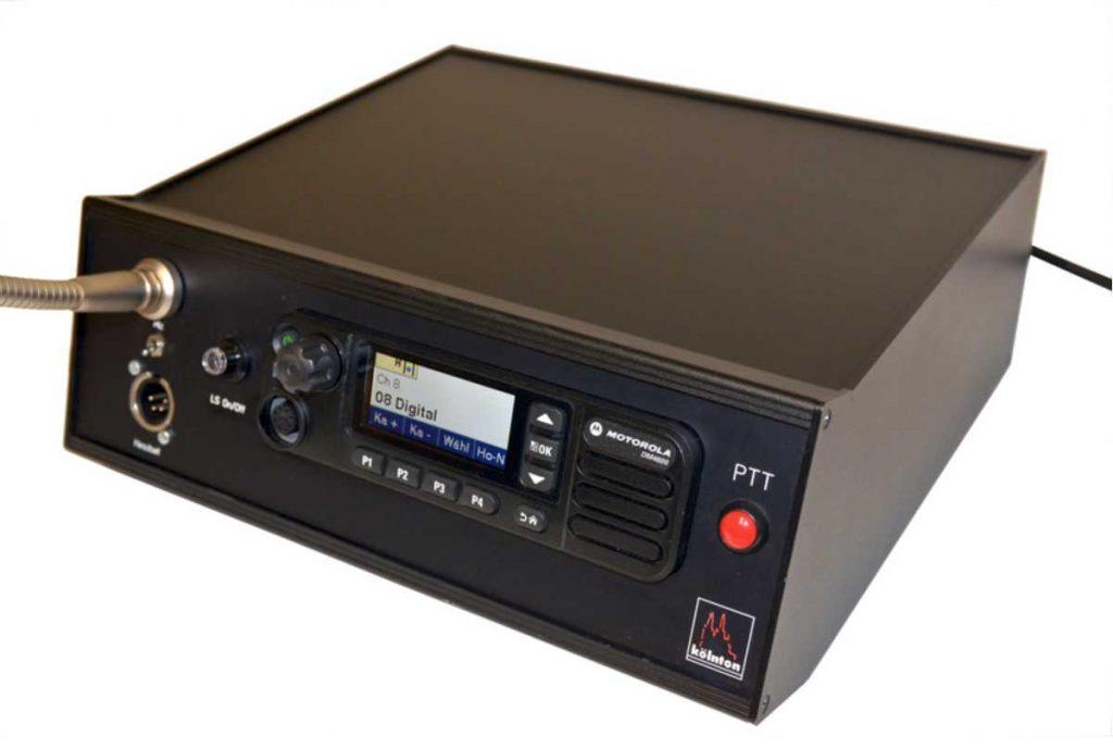 Motorola DM4600, DMR Tischstation