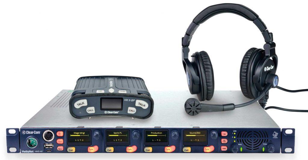 HelixNet, digitales Partyline System