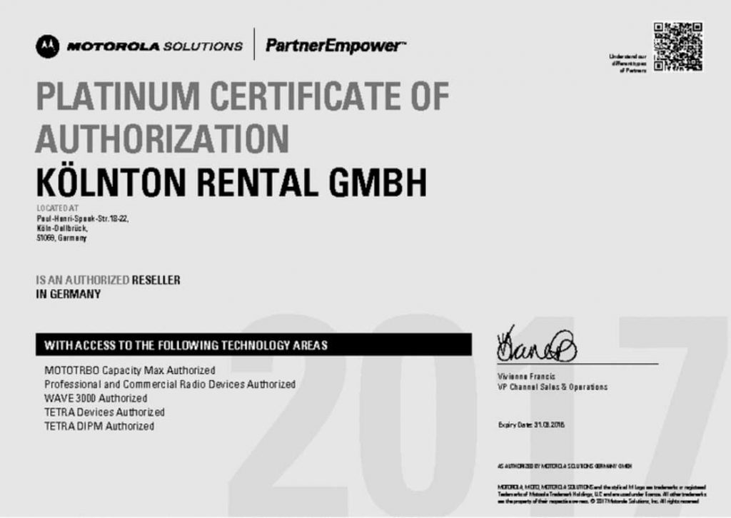Platinum-Certificate-of-Authorization-Koelnton-Rental-GmbH